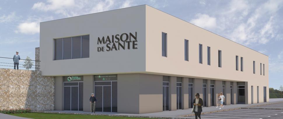 La future maison de santé  Mairie de Bozouls