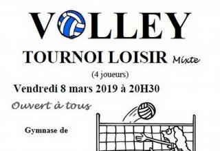 Tournois de volley